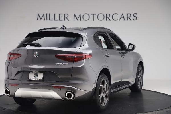 New 2020 Alfa Romeo Stelvio Sport Q4 for sale $50,945 at Alfa Romeo of Greenwich in Greenwich CT 06830 7