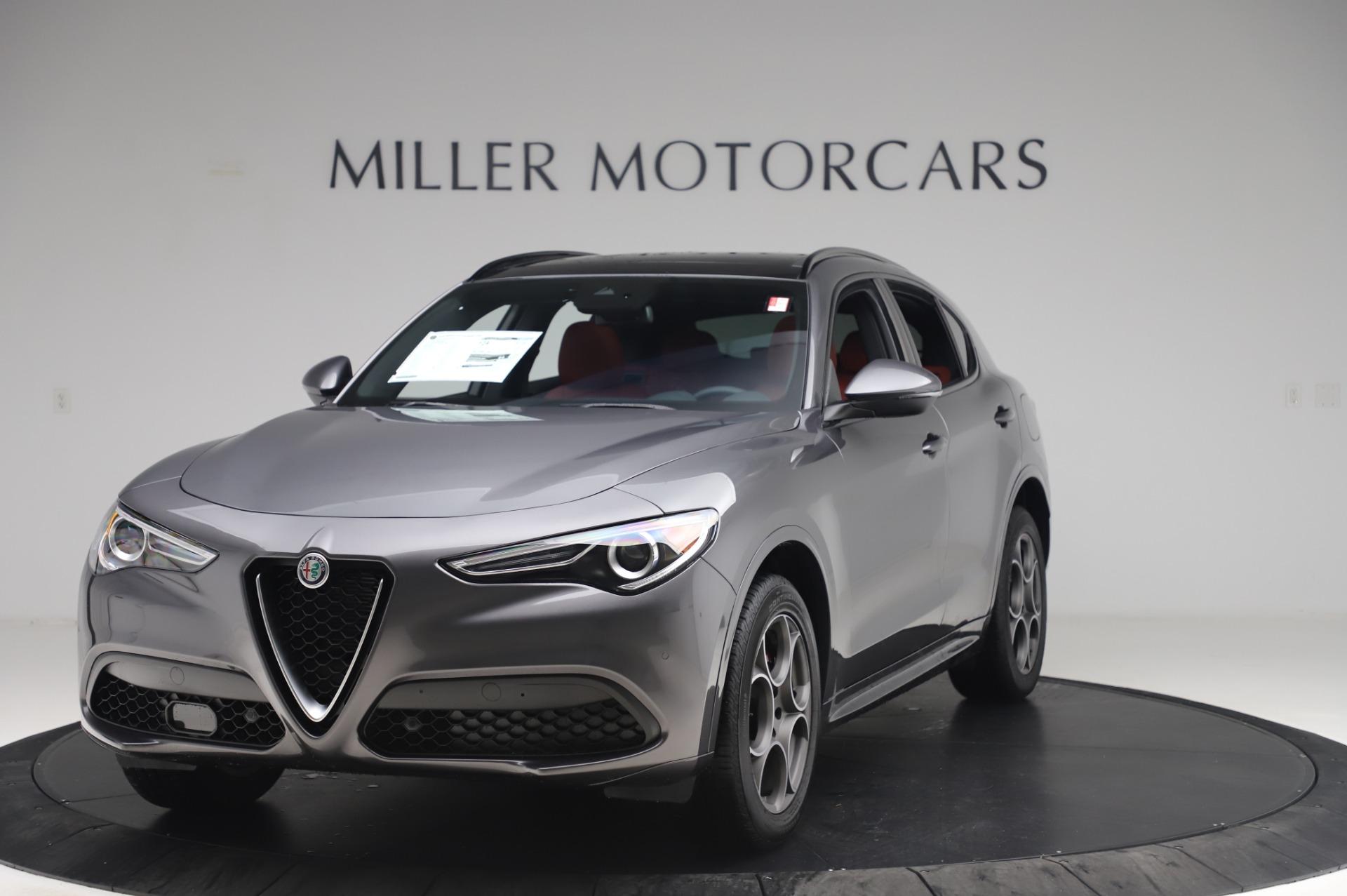 New 2020 Alfa Romeo Stelvio Sport Q4 for sale $50,945 at Alfa Romeo of Greenwich in Greenwich CT 06830 1