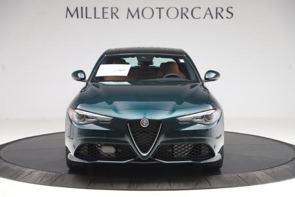 New 2020 Alfa Romeo Giulia Q4 for sale $46,995 at Alfa Romeo of Greenwich in Greenwich CT 06830 1