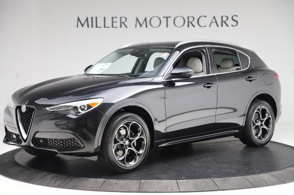 New 2020 Alfa Romeo Stelvio Ti Q4 for sale Sold at Alfa Romeo of Greenwich in Greenwich CT 06830 2