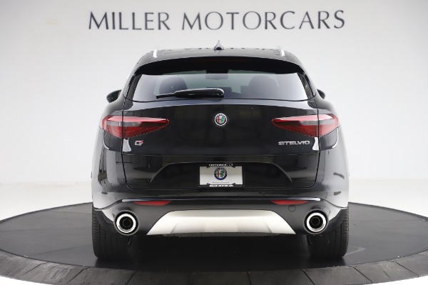 New 2020 Alfa Romeo Stelvio Ti Q4 for sale Sold at Alfa Romeo of Greenwich in Greenwich CT 06830 6