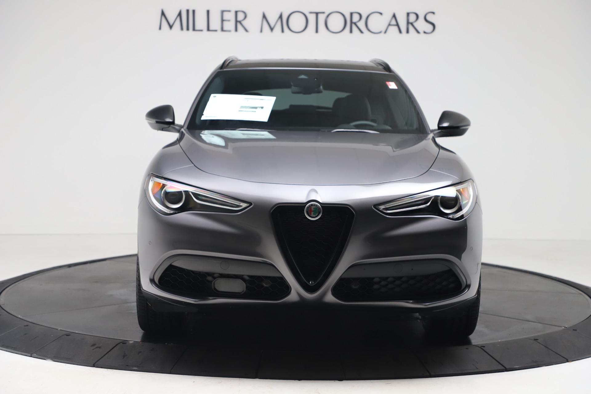 New 2020 Alfa Romeo Stelvio Ti Q4 for sale $51,045 at Alfa Romeo of Greenwich in Greenwich CT 06830 1