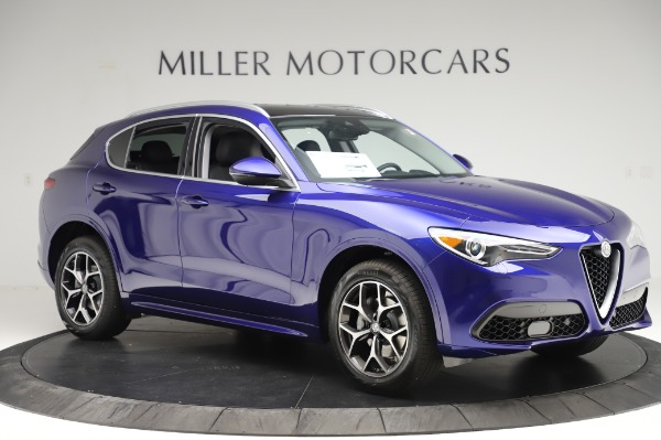 New 2020 Alfa Romeo Stelvio Ti Q4 for sale $50,695 at Alfa Romeo of Greenwich in Greenwich CT 06830 10