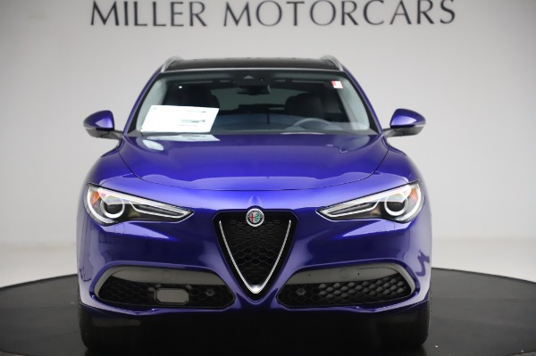 New 2020 Alfa Romeo Stelvio Ti Q4 for sale $50,695 at Alfa Romeo of Greenwich in Greenwich CT 06830 12