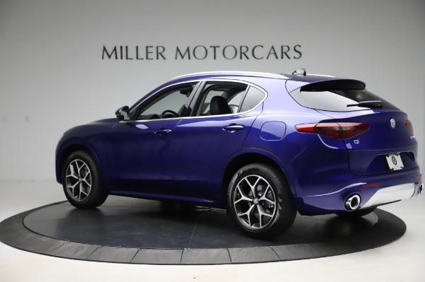 New 2020 Alfa Romeo Stelvio Ti Q4 for sale $50,695 at Alfa Romeo of Greenwich in Greenwich CT 06830 4
