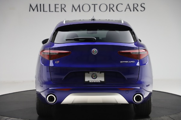 New 2020 Alfa Romeo Stelvio Ti Q4 for sale $50,695 at Alfa Romeo of Greenwich in Greenwich CT 06830 6