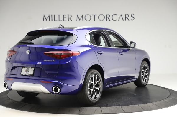 New 2020 Alfa Romeo Stelvio Ti Q4 for sale $50,695 at Alfa Romeo of Greenwich in Greenwich CT 06830 7