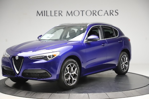 New 2020 Alfa Romeo Stelvio Ti Q4 for sale $50,695 at Alfa Romeo of Greenwich in Greenwich CT 06830 1