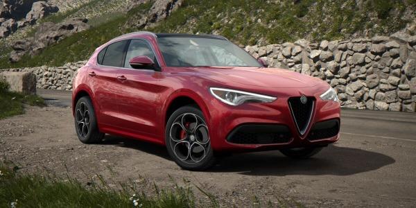 New 2020 Alfa Romeo Stelvio Ti Lusso Q4 for sale $54,745 at Alfa Romeo of Greenwich in Greenwich CT 06830 2