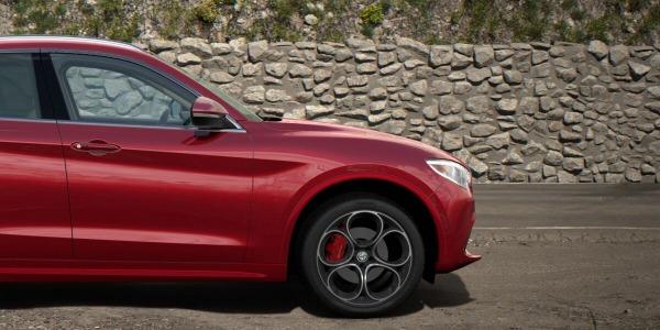 New 2020 Alfa Romeo Stelvio Ti Lusso Q4 for sale $54,745 at Alfa Romeo of Greenwich in Greenwich CT 06830 3