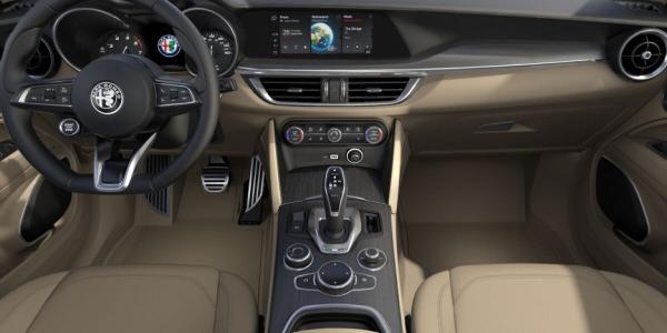 New 2020 Alfa Romeo Stelvio Ti Lusso Q4 for sale $54,745 at Alfa Romeo of Greenwich in Greenwich CT 06830 4