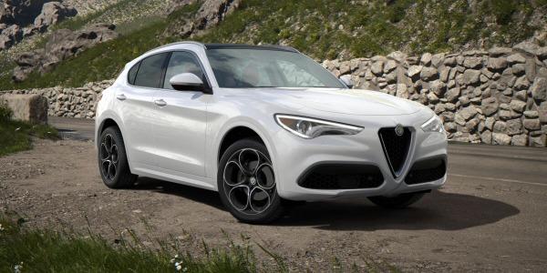 New 2020 Alfa Romeo Stelvio Ti Lusso Q4 for sale $54,145 at Alfa Romeo of Greenwich in Greenwich CT 06830 2