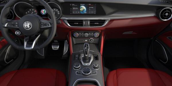 New 2020 Alfa Romeo Stelvio Ti Lusso Q4 for sale $54,145 at Alfa Romeo of Greenwich in Greenwich CT 06830 4