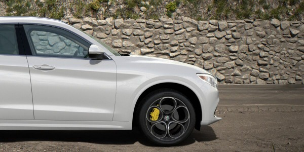New 2020 Alfa Romeo Stelvio Ti Lusso Q4 for sale $55,045 at Alfa Romeo of Greenwich in Greenwich CT 06830 3