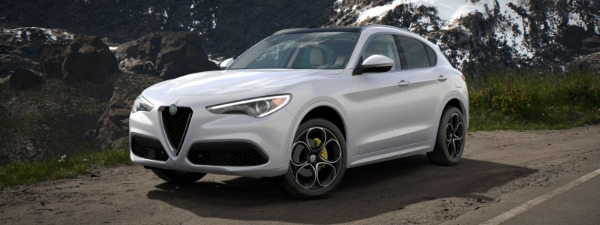 New 2020 Alfa Romeo Stelvio Ti Lusso Q4 for sale $55,045 at Alfa Romeo of Greenwich in Greenwich CT 06830 1