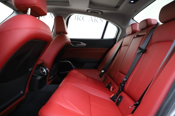 New 2020 Alfa Romeo Giulia Ti Q4 for sale Sold at Alfa Romeo of Greenwich in Greenwich CT 06830 20