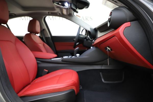New 2020 Alfa Romeo Giulia Ti Q4 for sale Sold at Alfa Romeo of Greenwich in Greenwich CT 06830 24