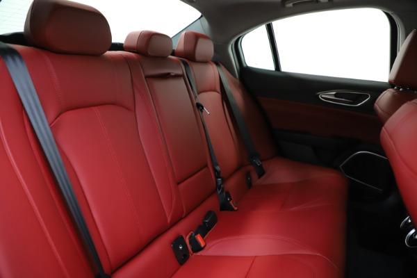 New 2020 Alfa Romeo Giulia Ti Q4 for sale Sold at Alfa Romeo of Greenwich in Greenwich CT 06830 27
