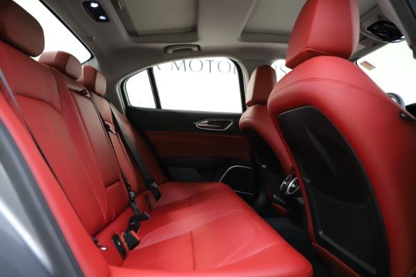 New 2020 Alfa Romeo Giulia Ti Q4 for sale Sold at Alfa Romeo of Greenwich in Greenwich CT 06830 28