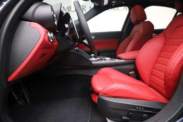 New 2020 Alfa Romeo Giulia Ti Sport Q4 for sale Sold at Alfa Romeo of Greenwich in Greenwich CT 06830 14