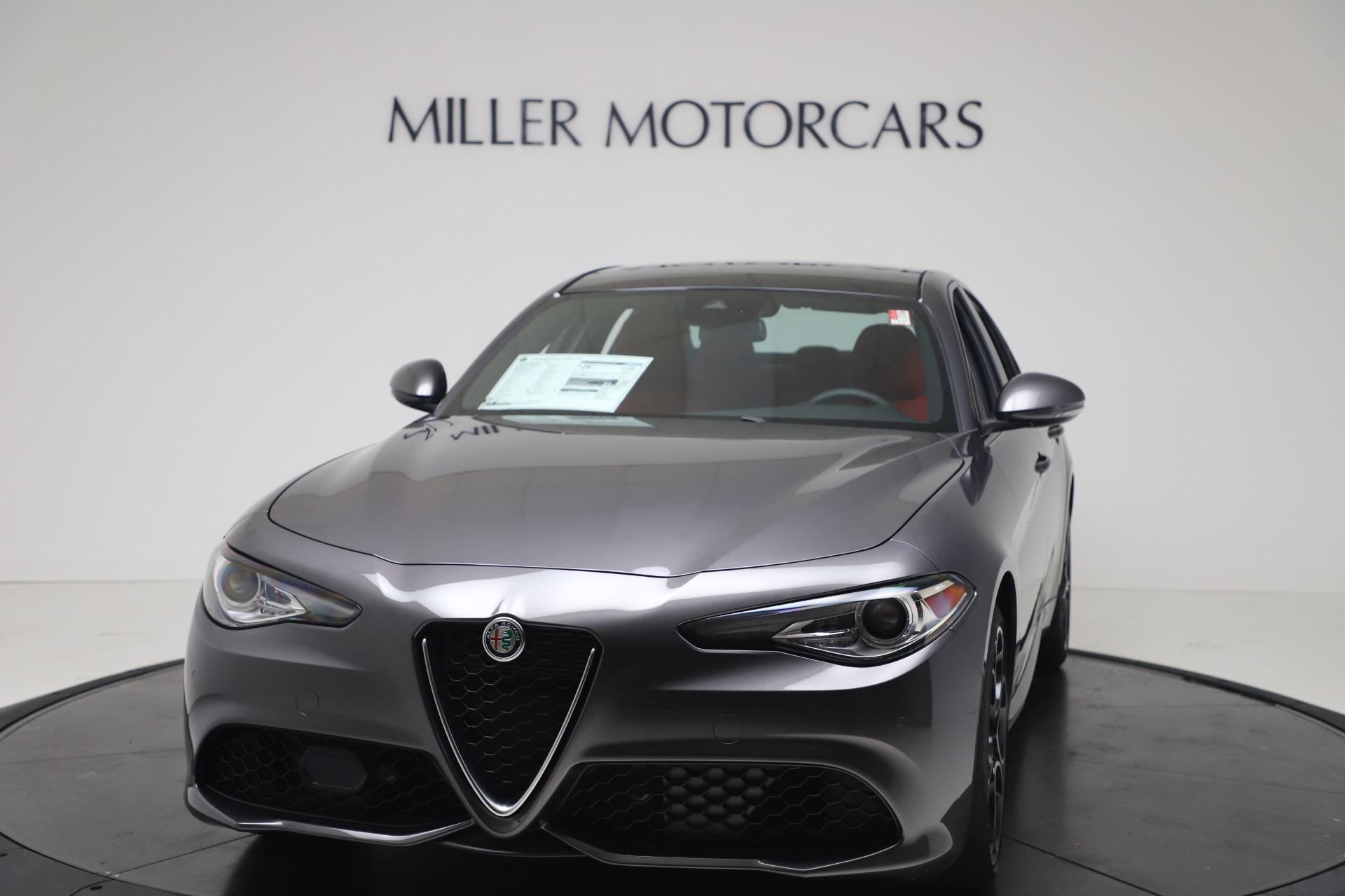 New 2020 Alfa Romeo Giulia Ti Sport Q4 for sale Sold at Alfa Romeo of Greenwich in Greenwich CT 06830 1