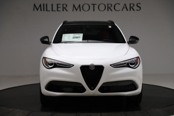New 2020 Alfa Romeo Stelvio Ti Sport Q4 for sale Sold at Alfa Romeo of Greenwich in Greenwich CT 06830 12