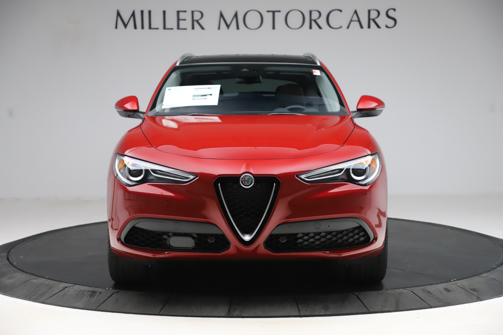 New 2020 Alfa Romeo Stelvio Ti Lusso Q4 for sale $56,495 at Alfa Romeo of Greenwich in Greenwich CT 06830 1