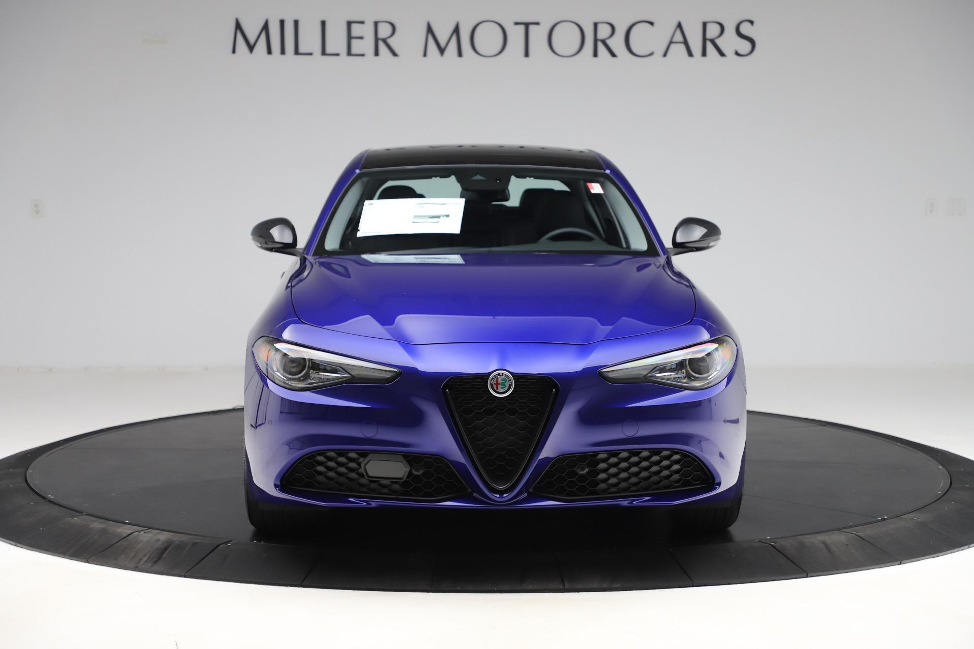 New 2020 Alfa Romeo Giulia Ti Sport Q4 for sale $47,995 at Alfa Romeo of Greenwich in Greenwich CT 06830 1