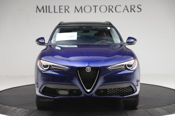 New 2020 Alfa Romeo Stelvio Sport Q4 for sale $50,895 at Alfa Romeo of Greenwich in Greenwich CT 06830 12