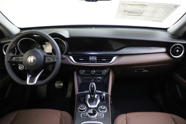 New 2020 Alfa Romeo Stelvio Sport Q4 for sale $50,895 at Alfa Romeo of Greenwich in Greenwich CT 06830 16