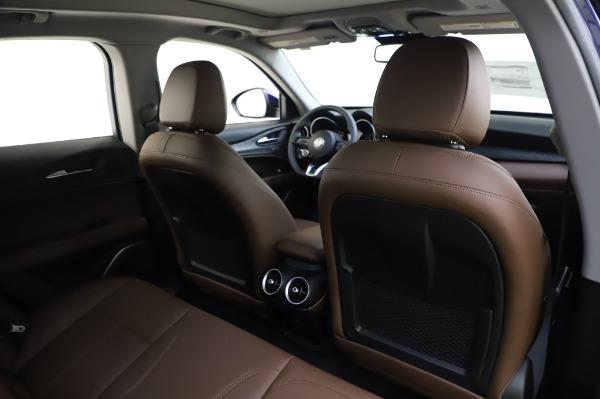 New 2020 Alfa Romeo Stelvio Sport Q4 for sale $50,895 at Alfa Romeo of Greenwich in Greenwich CT 06830 28