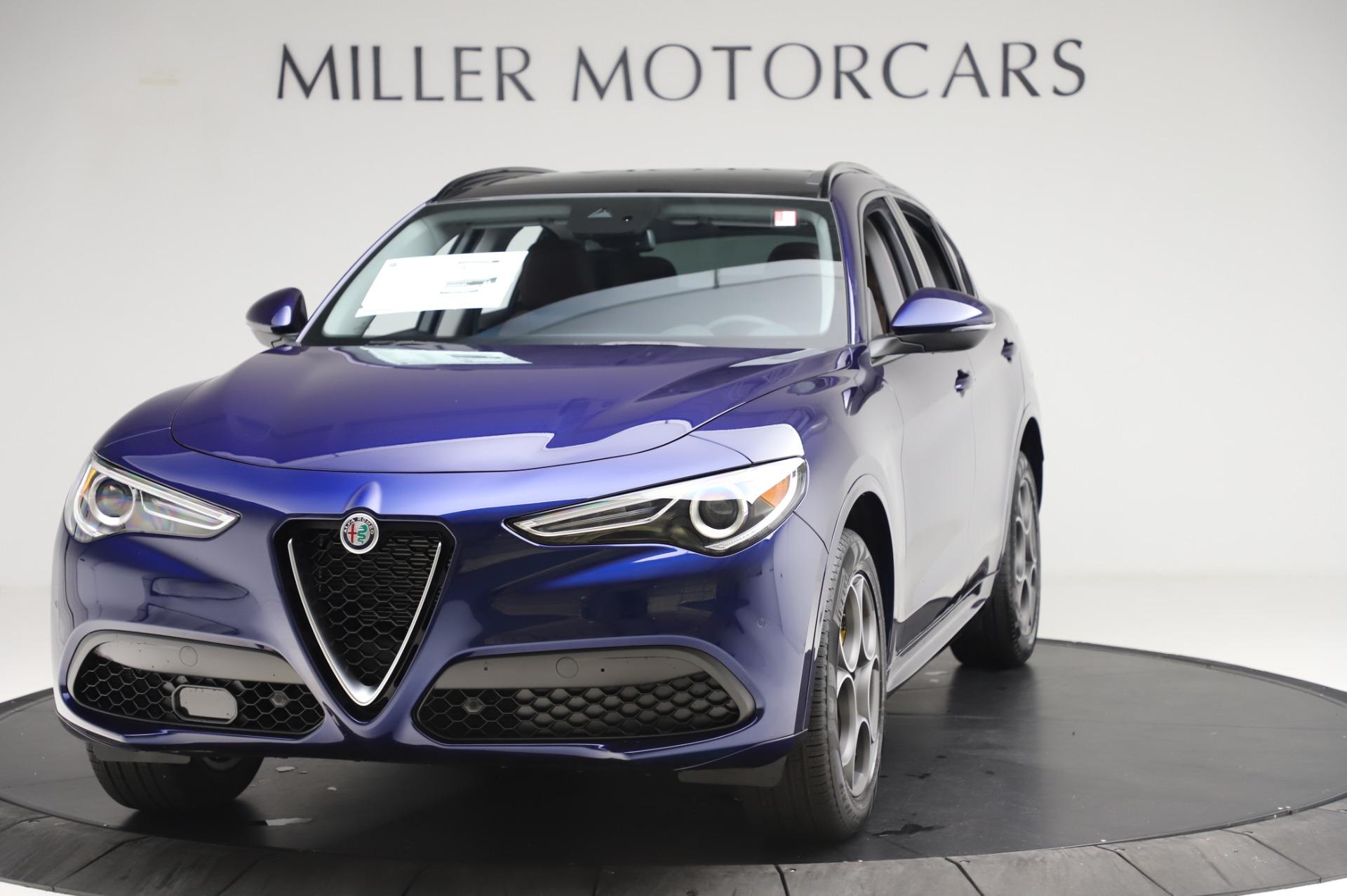 New 2020 Alfa Romeo Stelvio Sport Q4 for sale $50,895 at Alfa Romeo of Greenwich in Greenwich CT 06830 1