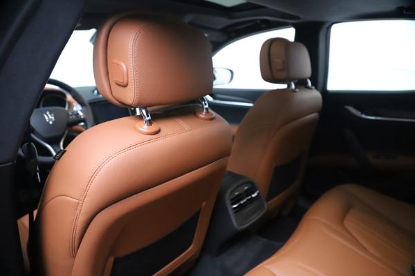New 2020 Maserati Ghibli S Q4 for sale $87,285 at Alfa Romeo of Greenwich in Greenwich CT 06830 20