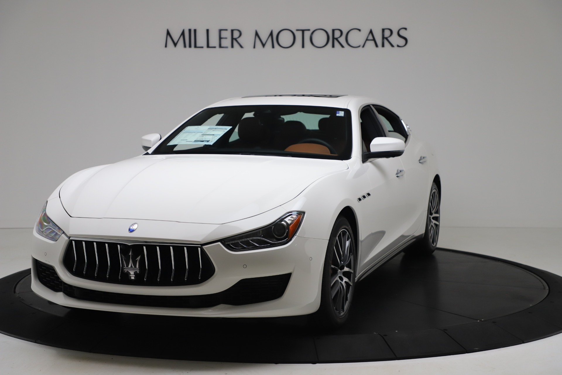 New 2020 Maserati Ghibli S Q4 for sale $84,735 at Alfa Romeo of Greenwich in Greenwich CT 06830 1