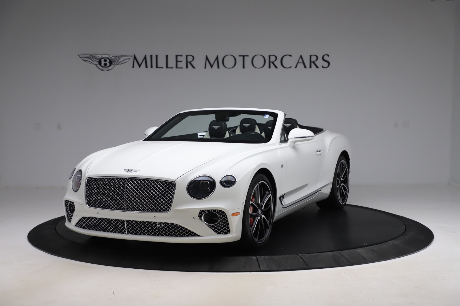 New 2020 Bentley Continental GTC V8 First Edition for sale $281,365 at Alfa Romeo of Greenwich in Greenwich CT 06830 1