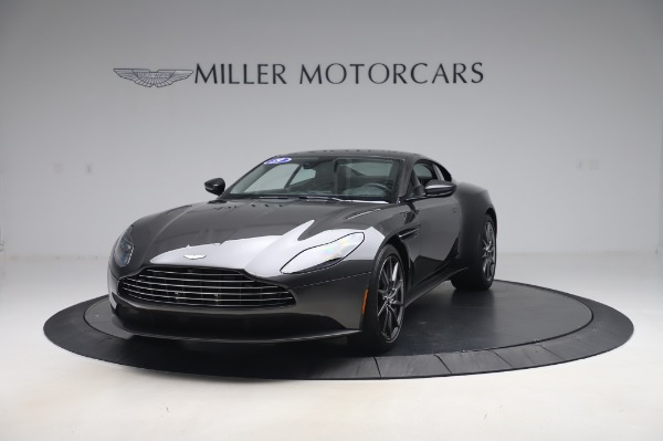 Used 2019 Aston Martin DB11 V8 Coupe for sale Sold at Alfa Romeo of Greenwich in Greenwich CT 06830 12