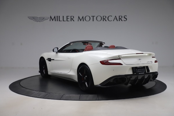 Used 2018 Aston Martin Vanquish S Volante for sale $183,900 at Alfa Romeo of Greenwich in Greenwich CT 06830 4
