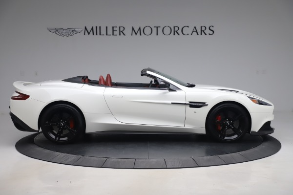 Used 2018 Aston Martin Vanquish S Volante for sale $183,900 at Alfa Romeo of Greenwich in Greenwich CT 06830 8