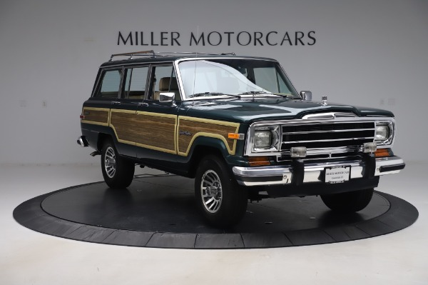 Used 1991 Jeep Grand Wagoneer for sale $89,900 at Alfa Romeo of Greenwich in Greenwich CT 06830 11