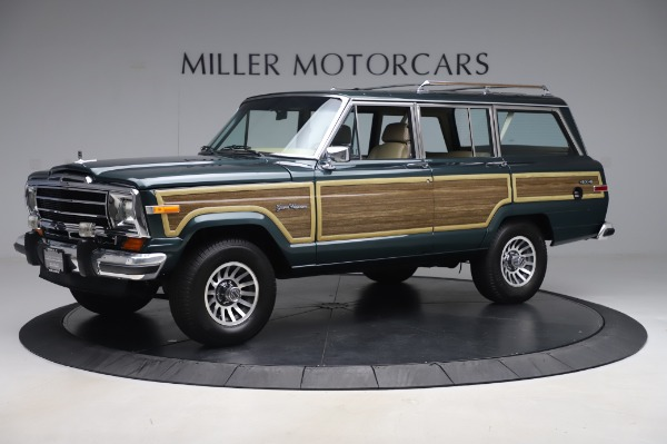 Used 1991 Jeep Grand Wagoneer for sale $89,900 at Alfa Romeo of Greenwich in Greenwich CT 06830 2