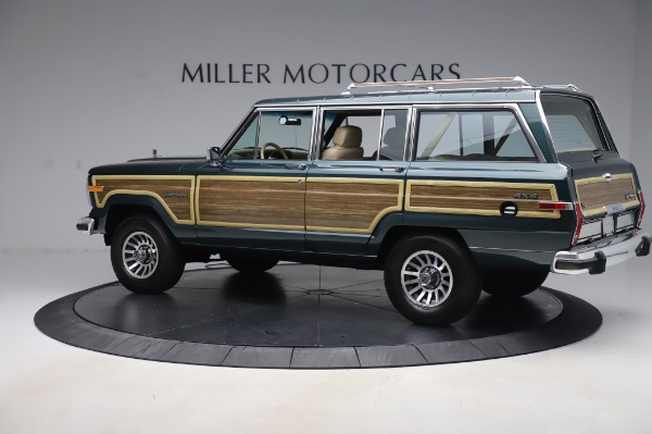 Used 1991 Jeep Grand Wagoneer for sale $89,900 at Alfa Romeo of Greenwich in Greenwich CT 06830 4