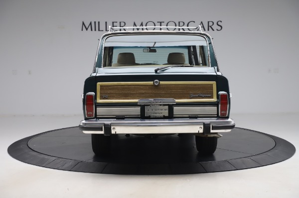 Used 1991 Jeep Grand Wagoneer for sale $89,900 at Alfa Romeo of Greenwich in Greenwich CT 06830 6