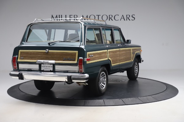 Used 1991 Jeep Grand Wagoneer for sale $89,900 at Alfa Romeo of Greenwich in Greenwich CT 06830 7