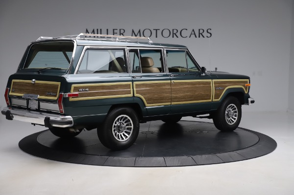 Used 1991 Jeep Grand Wagoneer for sale $89,900 at Alfa Romeo of Greenwich in Greenwich CT 06830 8