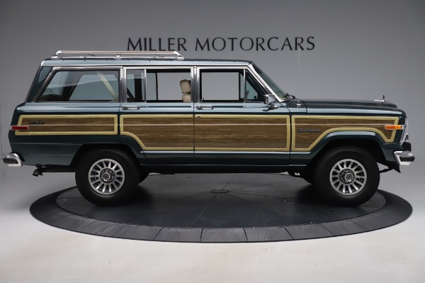 Used 1991 Jeep Grand Wagoneer for sale $89,900 at Alfa Romeo of Greenwich in Greenwich CT 06830 9