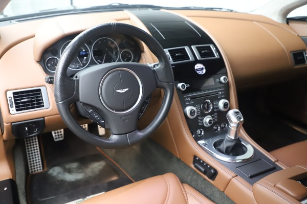 Used 2011 Aston Martin V12 Vantage Coupe for sale $108,990 at Alfa Romeo of Greenwich in Greenwich CT 06830 13