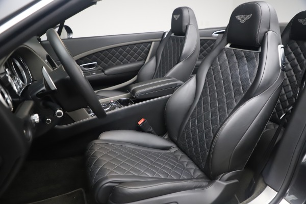 Used 2016 Bentley Continental GT Convertible Speed for sale $139,900 at Alfa Romeo of Greenwich in Greenwich CT 06830 19