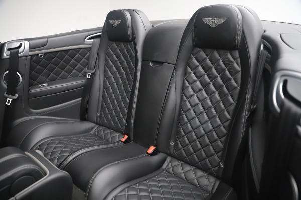 Used 2016 Bentley Continental GTC Speed for sale $146,900 at Alfa Romeo of Greenwich in Greenwich CT 06830 21