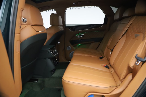 New 2021 Bentley Bentayga V8 First Edition for sale Sold at Alfa Romeo of Greenwich in Greenwich CT 06830 24