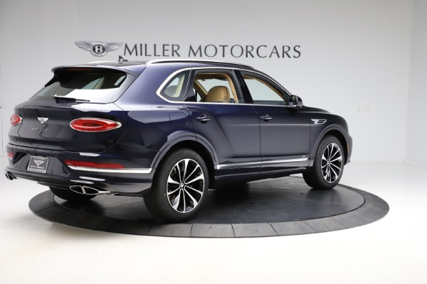 New 2021 Bentley Bentayga V8 for sale $209,755 at Alfa Romeo of Greenwich in Greenwich CT 06830 9